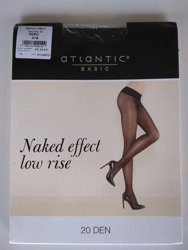 BLT-001 Rajstopy Naked Effect Low Rise  (20 DEN) Nero