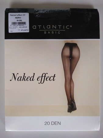 BLT-003 Rajstopy Naked Effect  (20 DEN) Nero