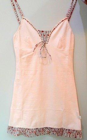 Atlantic NLD-098 Koszula Nocna Damska Premium róż